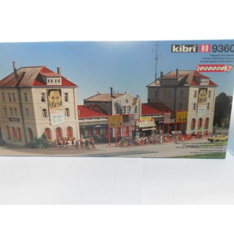 Kibri 9360 Railway Station Freiberg Kit 1 87 H0 Scale