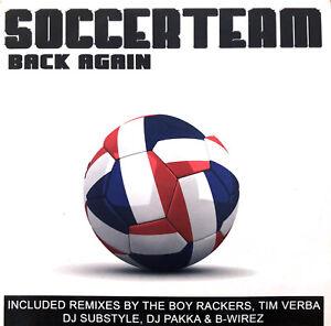 Soccerteam-CD-Single-Back-Again-Promo-France-EX-EX
