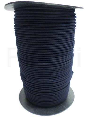 10 Meter €0,70//m 26 Gummiseil 4 mm Expanderseil marineblau Cord Kordel Seil