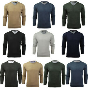 BRAVE-SOUL-MENS-SOFT-PULLOVER-JUMPER-CLASSIC-KNITTED-PLAIN-LIGHTWEIGHT-SWEATER
