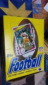 1984 Topps Football Wax Box NFL FULL BOX UNWRAPPED