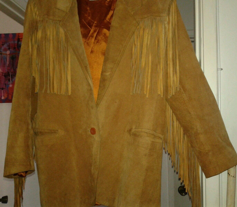 la nauicelle Renaissance Leather fringed Jacket - image 5