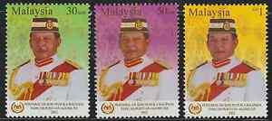 (288)MALAYSIA 2002 YANG DI-PERTUAN AGONG KING SET FRESH MNH