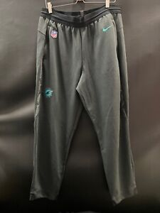CHARLES-BURKS-MIAMI-DOLPHINS-NIKE-TEAM-ISSUED-DRI-FIT-PANTS-W-POCKETS-SIZE-XL