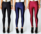 Sexy Women High Waist Stretch Skinny Shiny Spandex Leggings Pants Slim Fit YC