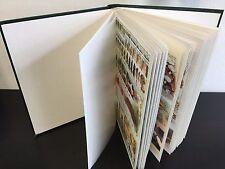 MONDE // Lot de 160 Blocs Feuillets oblitérés dans un Album 48 pages fond blanc