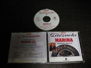 Alfredo Kraus (Zarzuela) CD Marina Volume 1