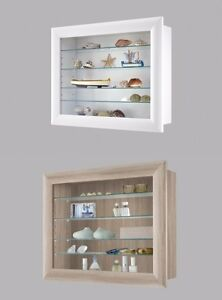 Wood Display Cabinet Shelving