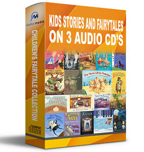 Childrens-Classic-Stories-Fairy-Tales-Bedtime-X3-audio-CD-039-s-bedtime-kids-stories