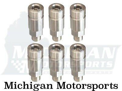 for 94-98 Dodge 5.9L P-pump Set of 6 Delivery Valve Holder .093 for Dodge 12V