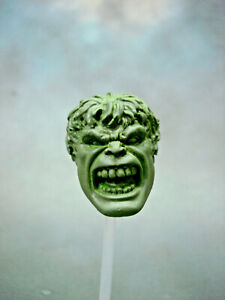 ML302-Hulk-Face-Off-open-mouth-Custom-Cast-head-use-with-6-034-Marvel-Legends