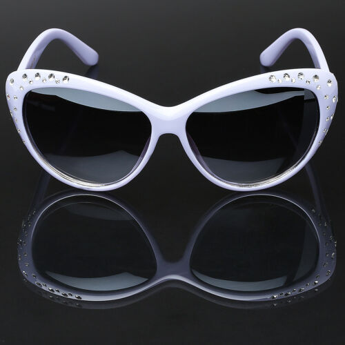 Cat Eye Kids Girls Rhinestone Fashion Ladies Sunglasses Children Youth Teen