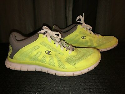 Champion Neon Green Athletic Men's Shoe