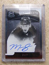 11-12 UD The Cup Enshrinements Autograph #CE-MS Rookie MARK SCHEIFELE /50