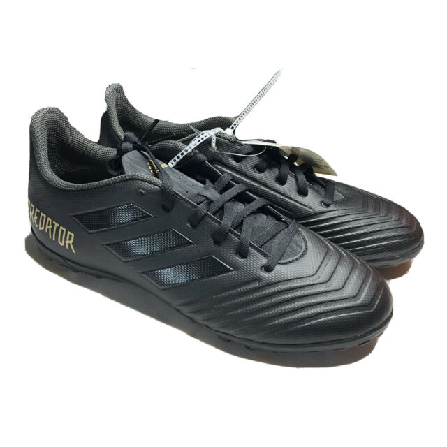 Adidas Predator 19.4 TF Turf Soccer Shoes Cleats Black F35635 Men's Size 9 New
