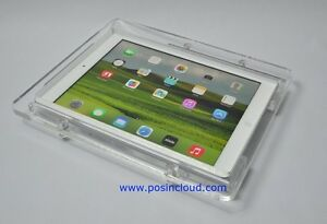 iPad-Air-VESA-Acrylic-Security-Enclosure-for-POS-Kiosk-Store-Show-EXPO-Display