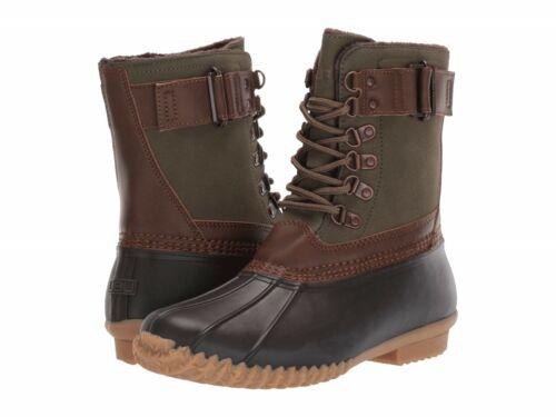 Army Green//Brown JBU by Jambu Women/'s Calgary Weather Ready Duck Booties