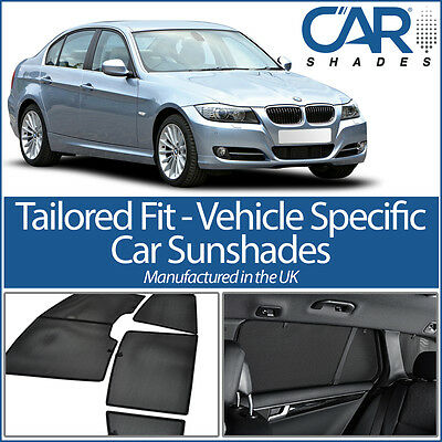 BMW 3 SERIES 4DR 12/> CAR SHADES UK TAILORED UV SIDE WINDOW SUN BLINDS