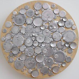 "Objective Unique Wall Sculpture ""silbver"" By Martin Kline 2010 Usa"