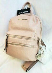 STEVE-MADDEN-Blush-BMIDI-amp-ID-Strap-CC-Wallet-Women-Backpack-AUTHENTIC-NEW