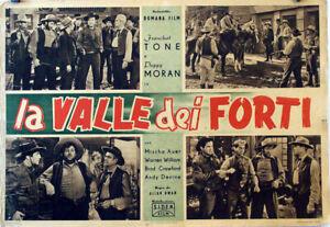 WESTERN-Trail-of-the-Vigilantes-FRANCHOT-TONE-1940-FOTOBUSTA-ALLAN-DWAN