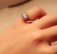 Vintage-Style-Micro-inlay-CZ-925-Sterling-Silver-Engagement-Solitaire-Ring-RS50 thumbnail 3