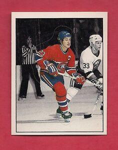 RARE-1987-CANADIENS-53-BOB-GAINEY-ACTION-STICKER-CARD