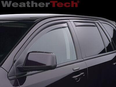 WeatherTech Side Window Deflectors - Ford Edge - 2007-2014 - Light Tint
