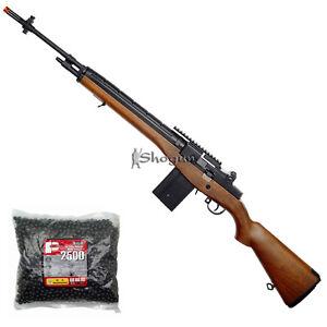 AGM-M14-MP008-Auto-Electric-AEG-Airsoft-Sniper-Rifle-Metal-Gear-Box-Wood-Color