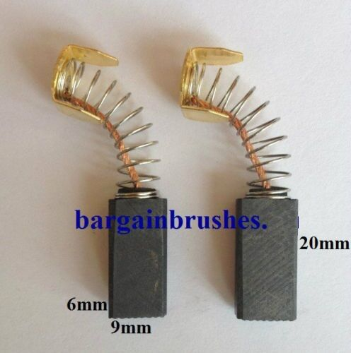 CARBON BRUSHES for RUPES NL 2 NL 3 NL 23 6x9x22mm TS11008 Angle Grinder T24