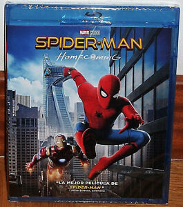 Spider-Man-Homecoming-Spiderman-Blu-Ray-Neuf-Scelle-Action-sans-Ouvrir-R2