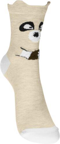 Pealu dünne TIERMUSTER Socken 33-40 atmungsaktiv Baumwolle weich bunt Strumpf
