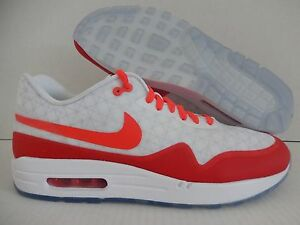 Details about NIKE AIR MAX 1 ID MARK PARKER HTM WHITE INFRARED SZ 10.5 [874605 991]