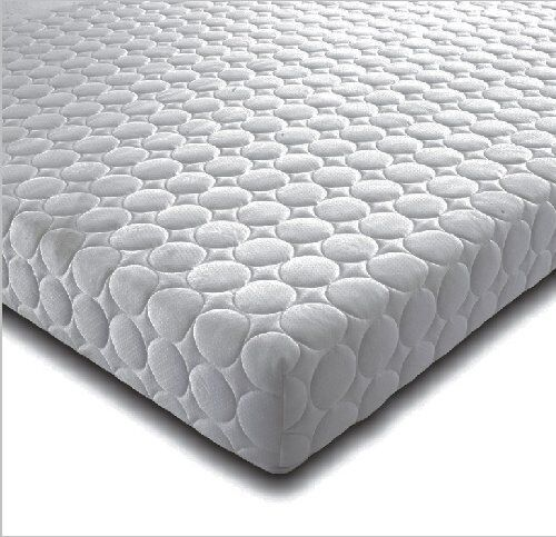 NEW MEMORY FOAM MATTRESS CIRCLE DESIGN WITH REMOVABLE ZIP COVER /& 2 FREE PILLOWS