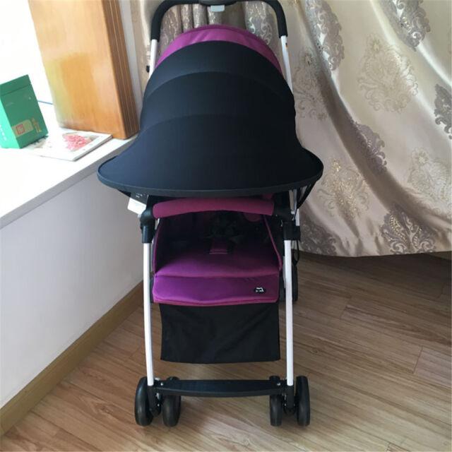 Poussette bébé Pare-soleil Canopy Cover pour landaus Pare-soleil poussette CoveI