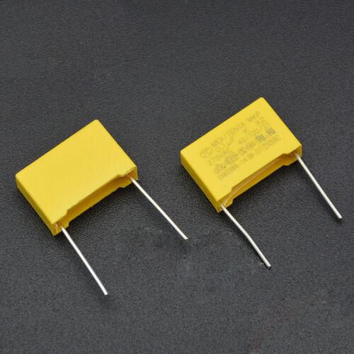 10PCS 275V104K X2 Safety Capacitor P=15MM 104KV 275VAC 0.1UF TC