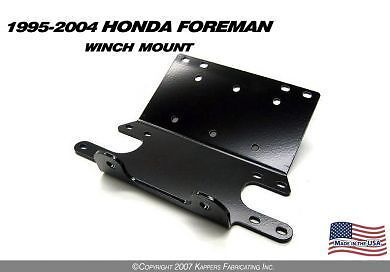 KFI Winch Mount Kit Honda Foreman 400 450 FM FW ES S 400 2001 2002 2003 2004