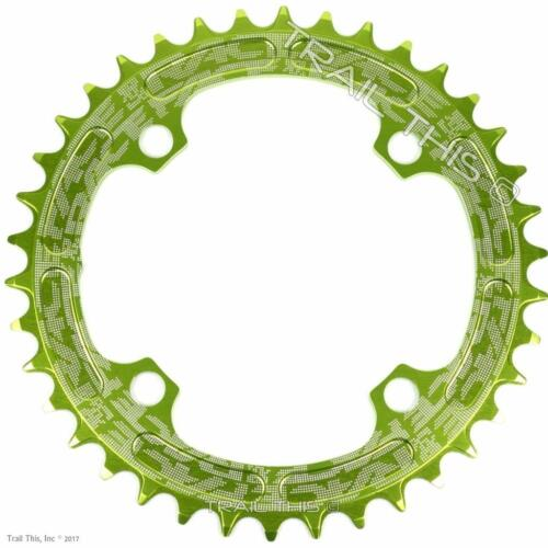 RaceFace Green Narrow-Wide 30,32,34,36,38T x 104 MTB Chainring 9 10 11 12-Speed