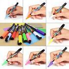 Hot White (3mm) Neon Liquid Chalk Sign Wet Wipe Marker Pen LED Board Glass S7