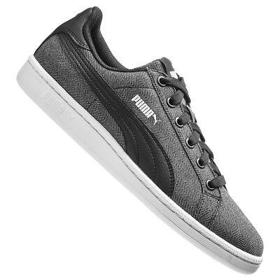 PUMA Puma Smash Herringbone Unisex Sneaker Freizeit Schuhe 362366-02 grau neu
