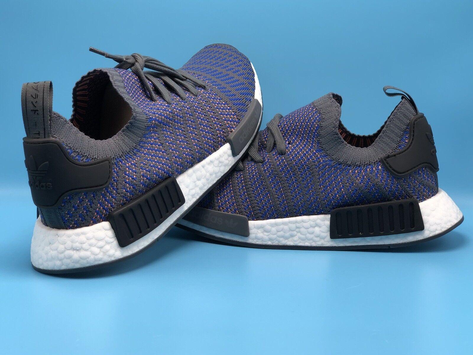 Adidas NMD R1 stlt PK hombre cq2388 Talla10 cq2388 hombre hi res Azul primeknit Retail priceprice reducción b5a315