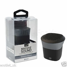 NEW iFrogz Audio TempoBlast Wireless Mini Bluetooth Speaker Portable - Black