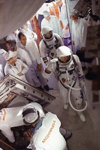 Gemini 5 Crew Recovery 11x14 Silver Halide Photo Print Collectibles Astronauts