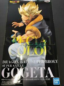 Banpresto NAMCO Movie Dragon Ball Super Figure GOGETA Special Color GOLD JAPAN