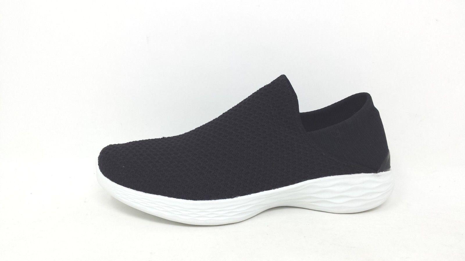 New Womens Skechers YOU 14951 – Black White 129D pm