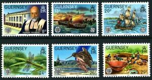GUERNSEY-1982-SOCIETE-SET-OF-ALL-6-COMMEMORATIVE-STAMPS-MNH