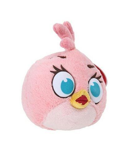 Peluche Angry Birds Oiseau rose Stella TCC 26 cm