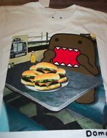 Domo Eating Cheese Burgers T-shirt 2xl Xxl W/ Tag