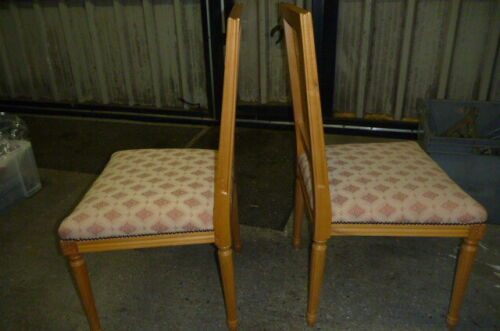 MATCHING PAIR FRENCH STYLE DINING, BEDROOM , LOUNGE CHAIRS