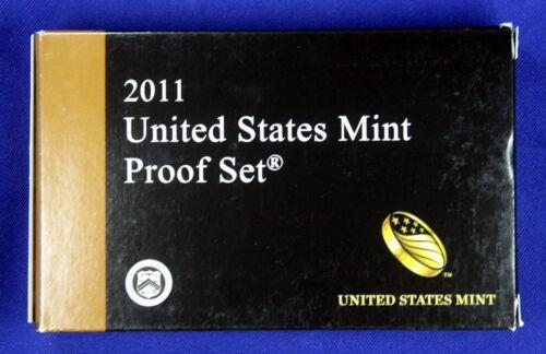 2011-s U.S Contains 3 sets Clad 14 coin Proof Set Proof set .25 set /& $1 set